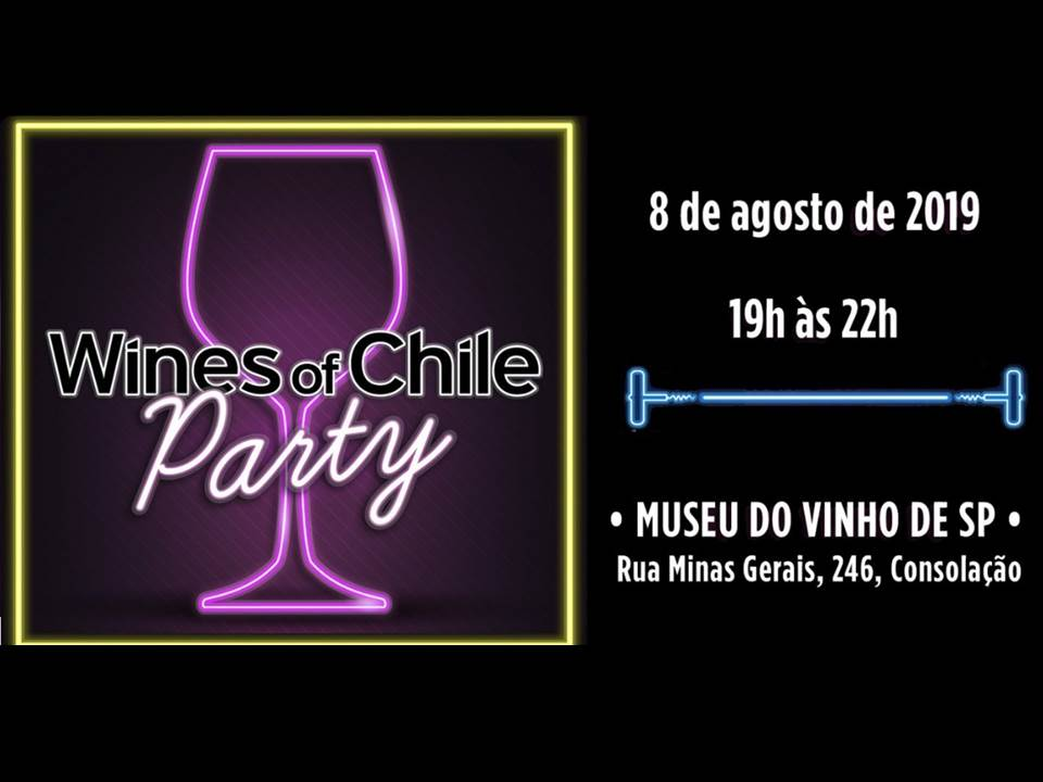 Wines of Chile Party: vinhos, música e comida
