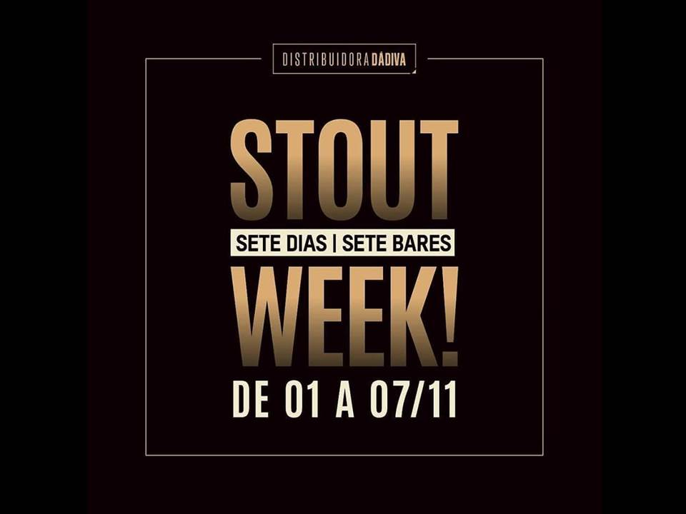 Distribuidora Dádiva promove a Stout Week