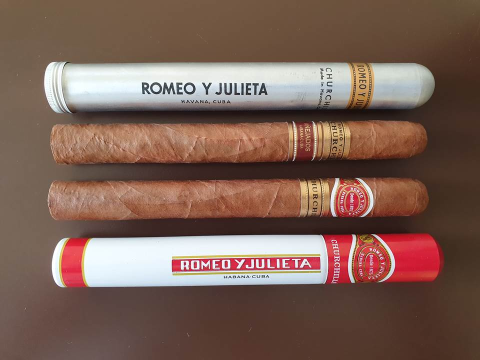 Romeo y Julieta Churchill X Romeo y Julieta Churchill Añejado