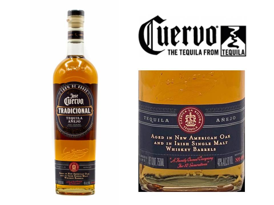 Jose Cuervo finaliza Tequila em barris de Irish Whiskey